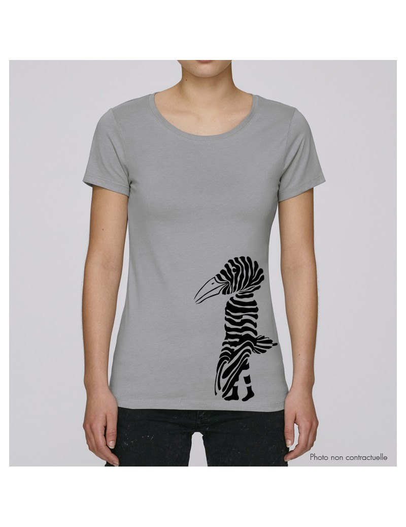 TS femme L col rond