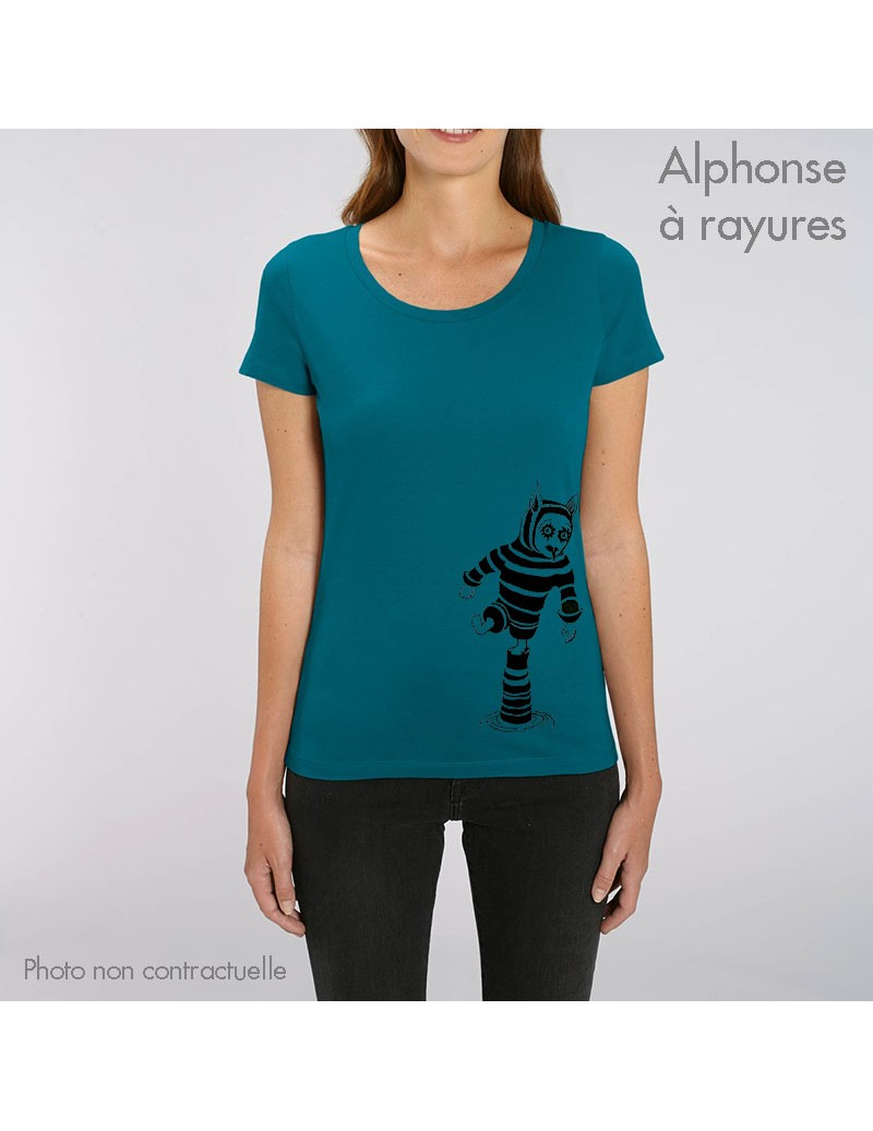 TS femme XS col rond