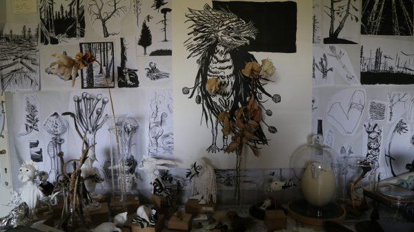 Dans l'atelier de Violaine Fayolle